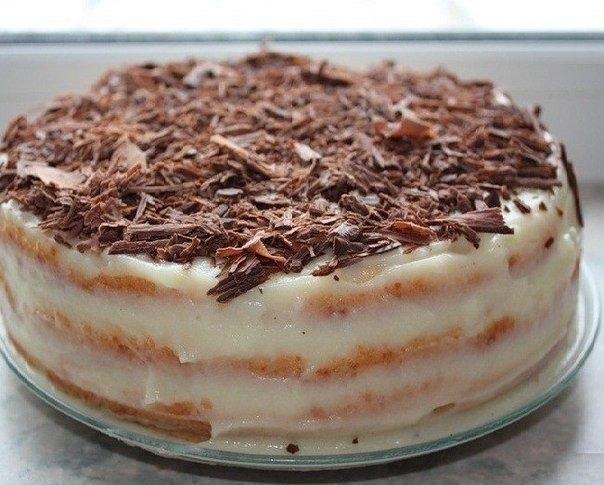 Самый быстрый рецепт торта