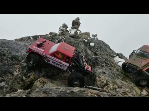 Gmade Bom Mountain rc Adventure with Trx4.