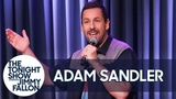 Adam Sandler Serenades Jimmy for The Tonight Show's Fifth Anniversary