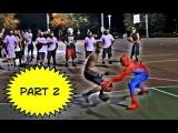 Человек - паук играет в баскет 2