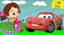 10 Küçük Araba Çocuklar İçin Arabalı Şarkılar Sayı Saymayı Öğreniyorum