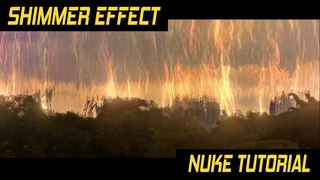 Nuke tutorial - How to create  Annihilation style shimmer effect