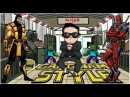 PSY - Gangnam Style MV World Deadpool, Mortal Kombat, Minecraft, Gta v