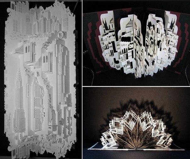 архитектурного киригами.