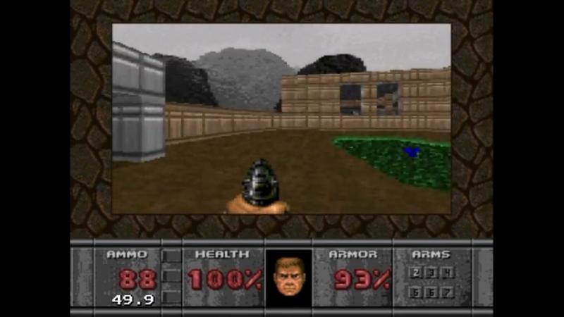 Doom Sega Mega Drive Gameplay