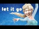 GE 이상호 엘사가 음치라면 Let it go Frozen - Korean