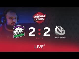 Virtus.pro 2:2 Vici Gaming, Dream League Major Grand Finals