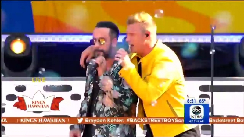 I Want It That Way - Backstreet Boys (Live on GMA) 13 4 07 2018