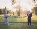 Свадебная фотосессия, которую ждали 70 лет. Когда они заключали брак…