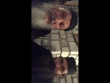 Архимандрит о. Никанор в гостях у монаха о. Афанасия на Карульях