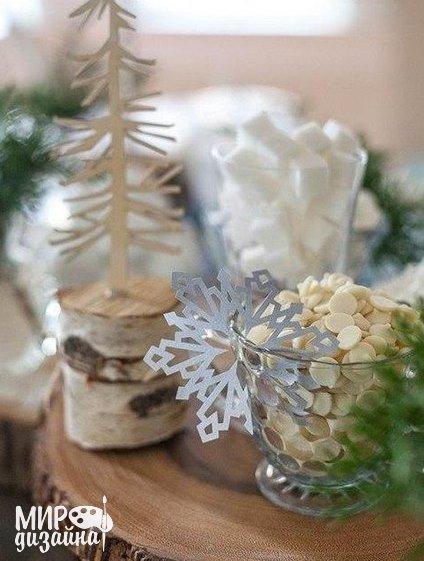 Шаблоны снежинки из бумаги (8 фото) - картинка