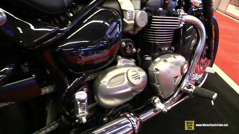 2018 Triumph Bonneville Speedmaster 1200 Walkaround 2018 Montreal Motorcycle Show