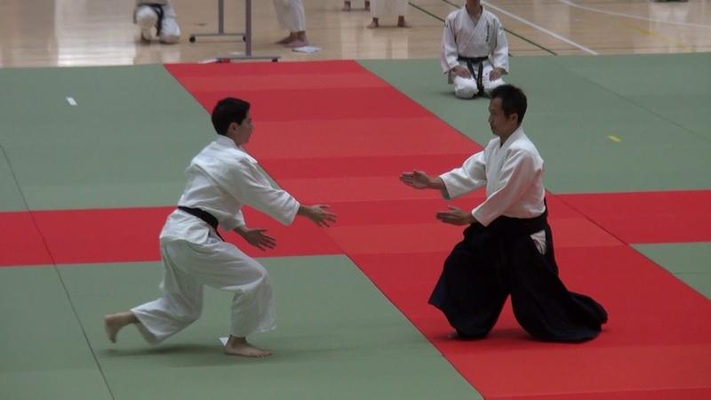 第63回演武会 養神館 乗木先生 -2018 Demo Yoshinkan Noriki Dōjō-chō