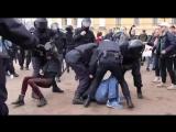 Видео задержания Михаила Цакунова, обвиняемого в нападении на полицейского