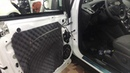 Ford Kuga замена штатной автоакустики. Установка колонок через проставочные кольца и шумка дверей