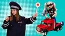 Волшебный шкаф Харли Квин и полицейский Видео для девочек