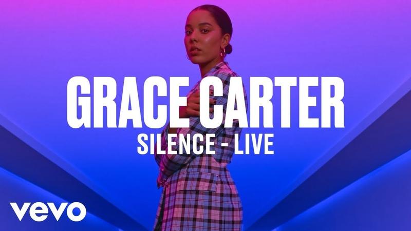 Grace Carter - Silence (Live) | Vevo DSCVR
