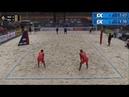 2018 FIVB Ostrava Open Virgen/Ontiveros (MEX) vs Krasilnikov/Liamin (RUS)