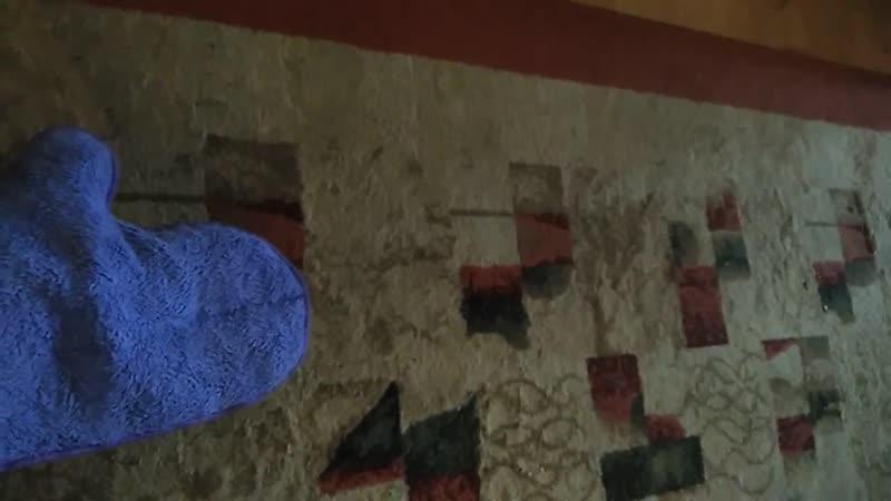 Варежка Инволвер отлично чистит ковёр и мебель