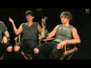 5 Seconds Of Summer - VMA 2014 Performer Interview Favorite Sit Down Dance Moves