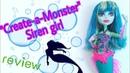 Обзор на куклу Monster high Create-a-Monster Siren girl