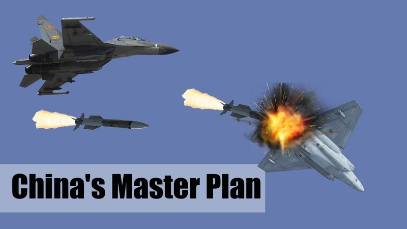 Chinas Master Plan To Destroy the Stealthy F-22 and F-35 in Battle