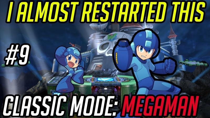 Episode 9 Classic Mode Megaman: I almost restarted this video. *SALT*