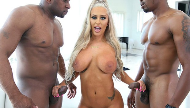 BangBros - Two Big Black Cocks for Brandi