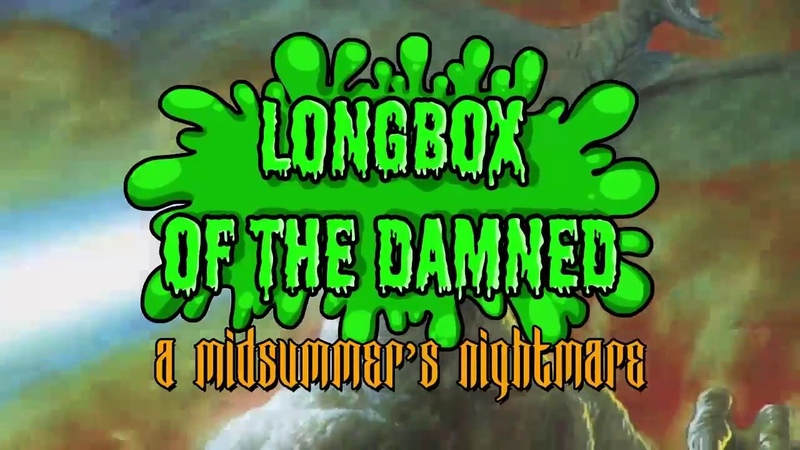 Godzilla in Hell - Longbox of the Damned