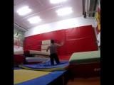 Gymnastics training