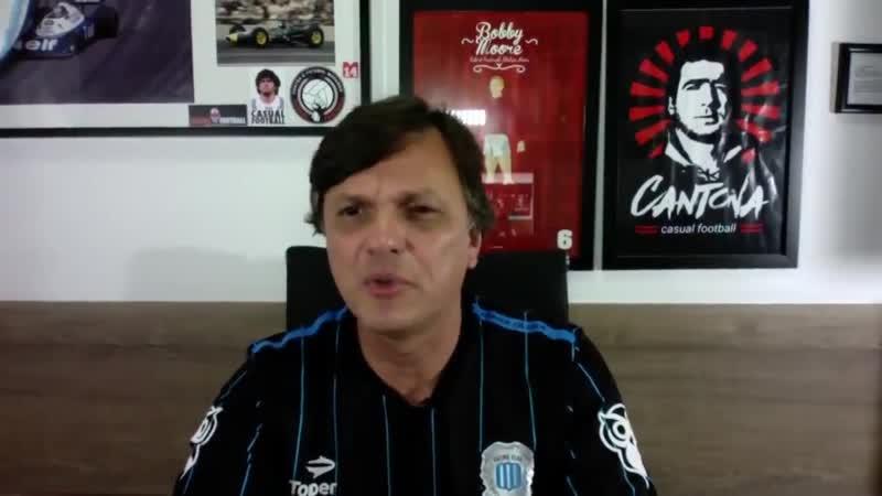 E um torcedor que mandou o Mauro Cezar morar na Argentina porque tava usando a camisa do R
