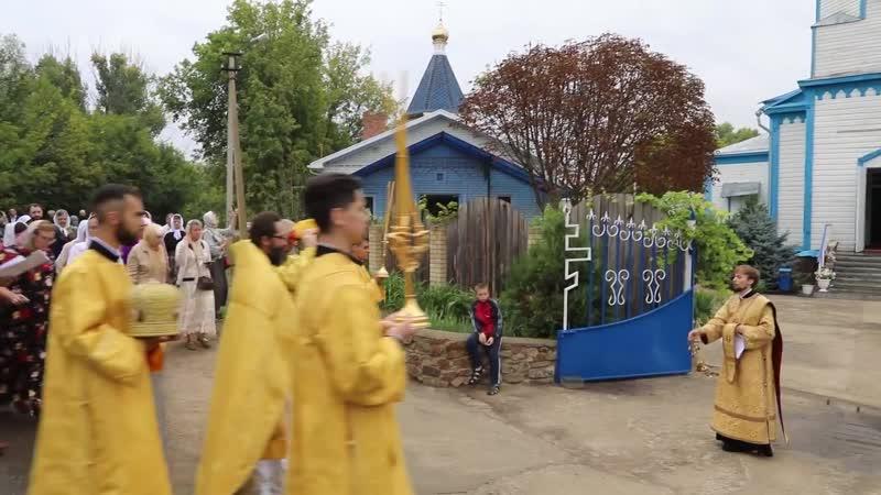 В Покровском Верхнемакеевском монастыре освящен храм в честь святого Георгия Победоносца