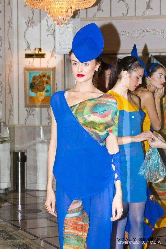 Творчество Хундертвассера вдохновило нас на создание женской одежды.