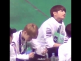 Jimin accidentally broke that army bomb and Jungkook just ㅋㅋㅋㅋㅋ these babies