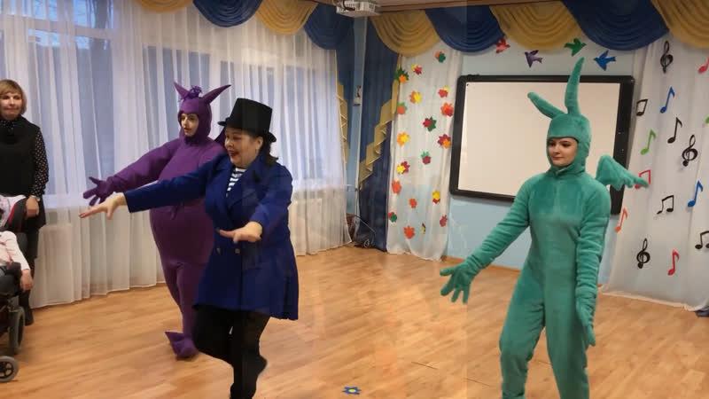 Детская игровая программа в СКОШИ 1 г Мурманск