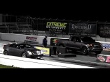 Tuned CTS-V vs Supercharged TRD Tundra - 1/4 Mile Drag Race Video - Road Test TV