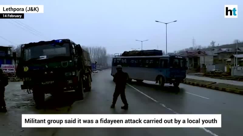 Десятки военных убиты и ранены при теракте в Индии