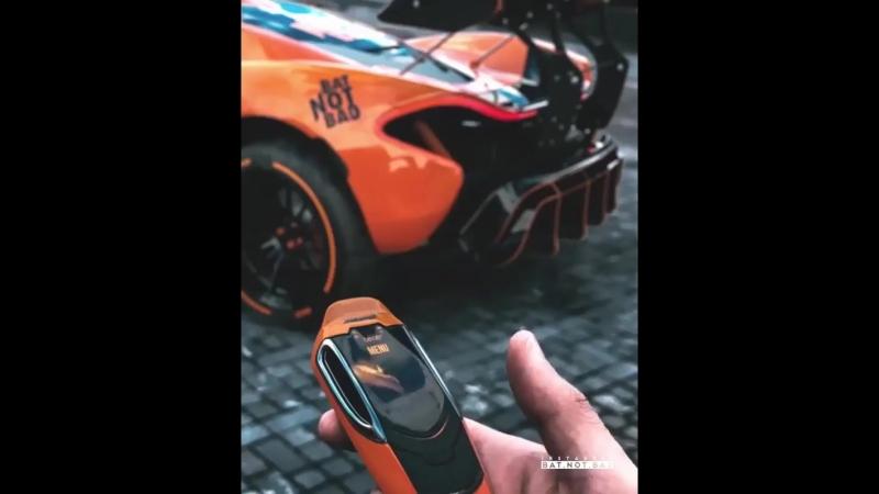 Mclaren P1 GTR concept key 🙌