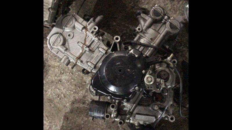 Проверка контрактного двигателя Suzuki SV400 (K508) перед отправкой клиенту | motod.ru