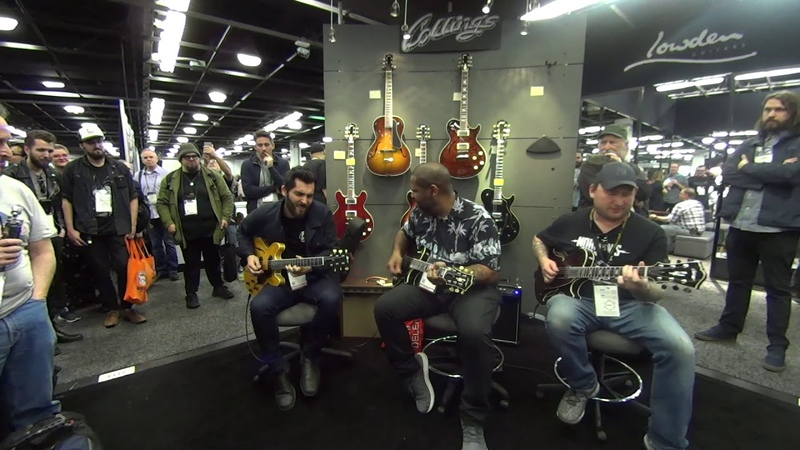 Ariel Posen, Kirk Fletcher and Josh Smith - NAMM 2019 (Part 2)