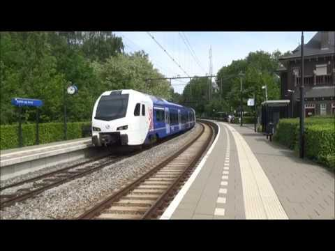 Treinen in Heerlen en Schin op Geul