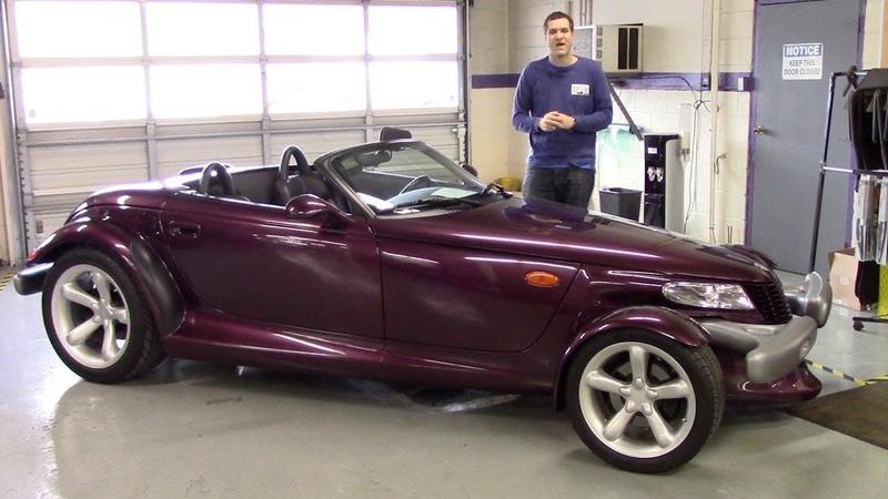 Вот почему Plymouth Prowler это самая странная машина 90-х