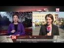 Как сотрудничают Ставропольский край и Крым прямое включение специального корреспондента телеканала Крым 24 Елены Носковой