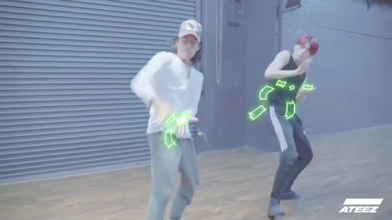 [🎬] ATEEZ (SAN) Dance Performance in LA . SAN Julian DeGuzman(@juliandeguz13) . ATEEZ 에이티즈 산 SAN