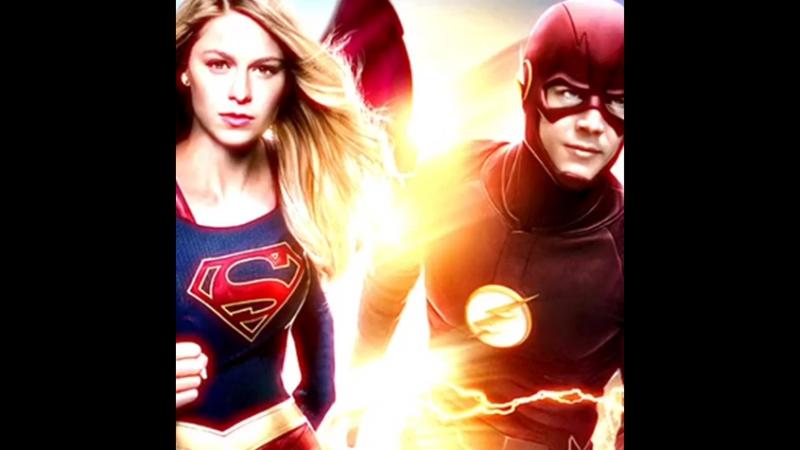 「⊱ supergirl x flash ⊰」