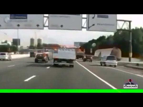 Крутой пожар на трассе