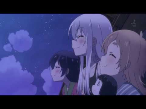 Smol Anime Girls Howling at the Moon