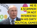 Putin Disses Poroshenko's Attempt To Contact Him On Phone It's Pre Election Stunt And Manipulation