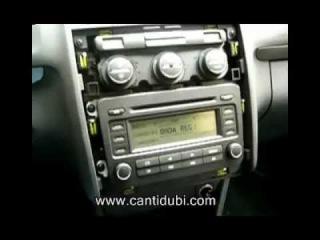 Desmontar radio del Volkswagen Touran