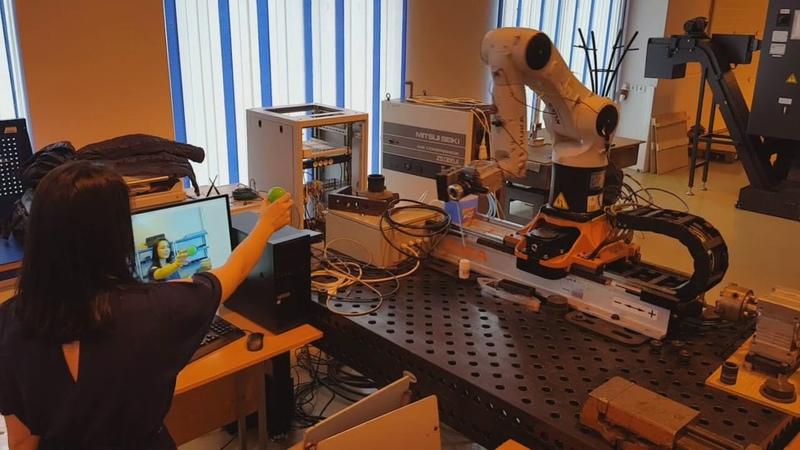 Промышленный робот машинное зрение Industrial robot machine vision
